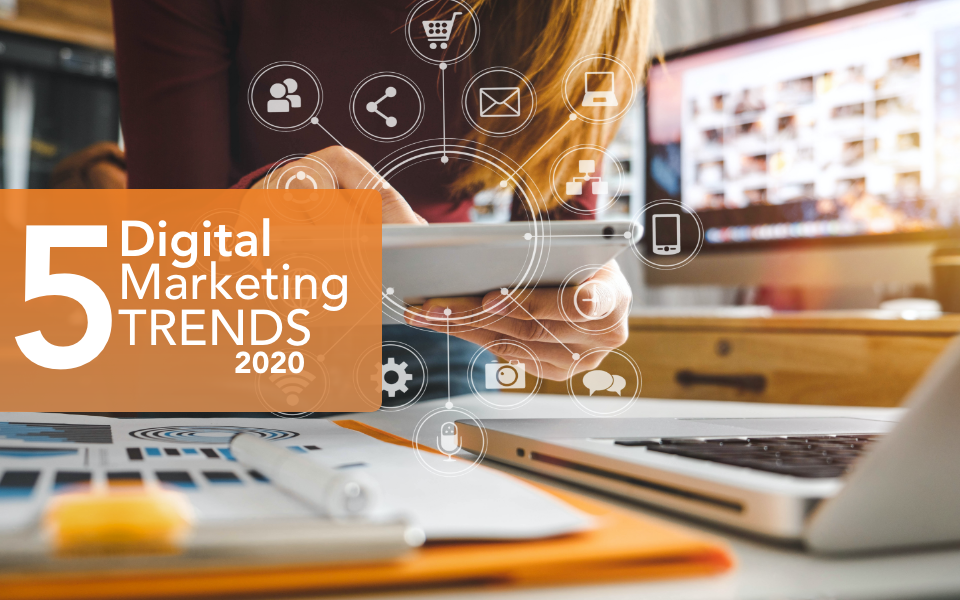 Stay Ahead of the Curve: 5 Latest Trends in Digital Marketing